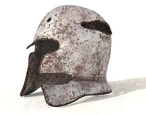 helmet 3D asset game-ready military
