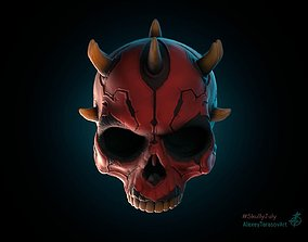 Darth Maul skull 3dprinting starwars