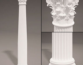 3D Antique Column type 2