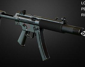 MP5 SMG 3D asset