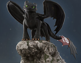 Toothless - How to train your dragon for 3d print