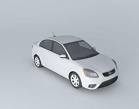 2010 KIA Rio CVVT Facelift 3D