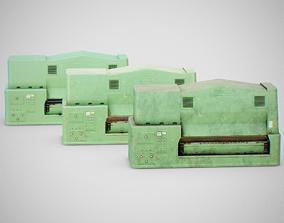 3D asset Sanding Machine - Anthon 02