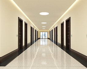 3D Hotel Hallway 001