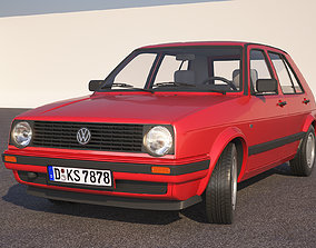 Volkswagen Golf 2 1986 3D