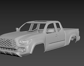 Toyota Tacoma 2020 Access Cab Body For 3D printable model