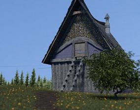 3D model House of the viking