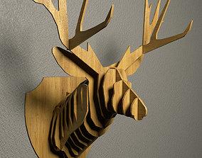 DEER WALL DECOR 3D model