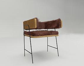 Minimalist Chair 3D asset