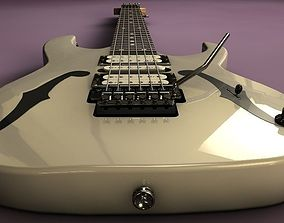 3D model Ibanez PGM30wh