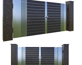 architectural Entrance gate 3D model