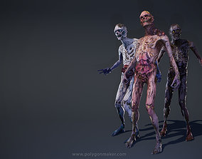 Monsters - Zombies 3D model