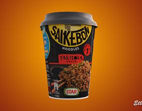 Saikebon Yakisoba Cup 3D model