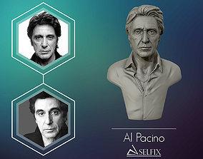 portrait 3D Portrait sculpture of Al Pacino