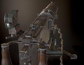 MG08 Heavy Machine Gun 3D model