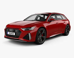 3D Audi RS6 avant 2019