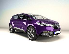 3D model Renault Initiale 2014 concept car