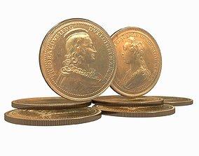 3D Medals Ferd de Saint Urbain 45 mm