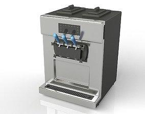 Soft Ice Cream Machine 3D model