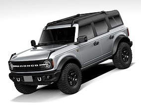 Ford Bronco Badlands 4door 2021 3D