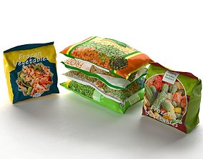 3D Packed Frozen Food