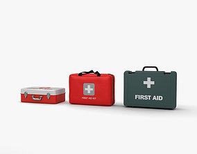 First Aid Kit collection 3D model
