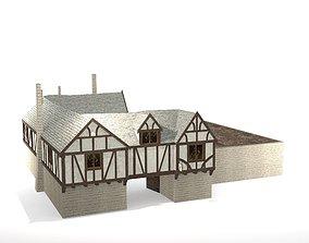 3D asset Medieval Inn The Blue Rabbit