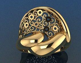 brillant Ring 18 3D print model