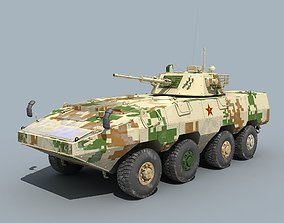 China ZBD-09 Infantry fighting vehicle 3D