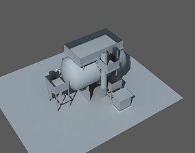 industry tank 3D model