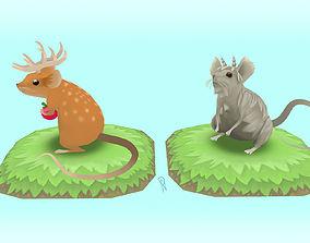 Antlermice Set 1 3D printable model