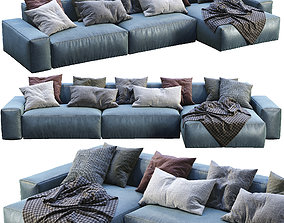 3D Jesse Leather sofa Daniel 1