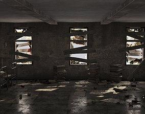 3D Abandoned building