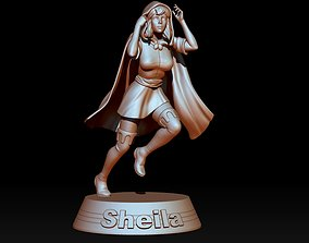 3D printable model Sheila The Thief