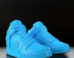 Nike Dunk High 3D printable model