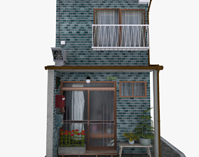 Yanaka House 3D model