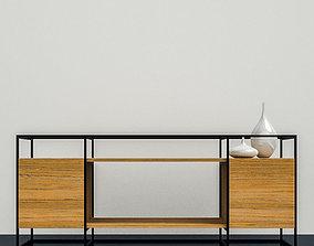 3D cabinet living Cabinet