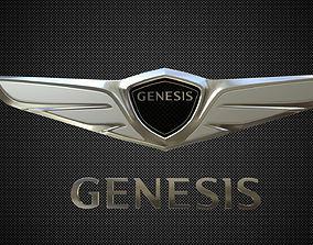 3D model genesis logo