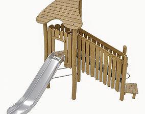 3D asset Playground Equipment 068