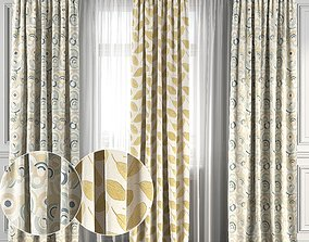 Curtain Set 118 3D