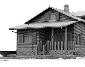 Cabin 3D model