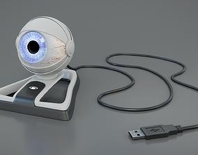 3D model USB eye