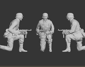 gun 3D printable model German soldier