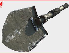 3D model Military Shovel