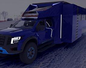 3D Nissan Titan Valkiria House Edition