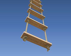 Rope Ladder 3D model