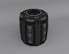3D model Sci-Fi Barrel Pack