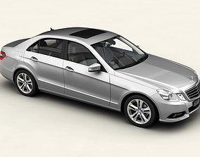 3D model Mercedes E Class 2010