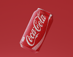 Coca Cola Can 3D model realtime