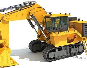 Mining Shovel 3D